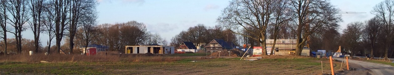 Hausbau im Erlenhof, Ahrensburg